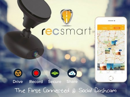 Recsmart dashcam connectée RoadEyes financement participatif