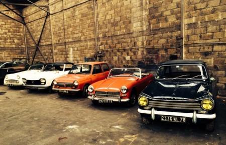 Trésor automobile découvert dans une ferme de Cléguérec 70 voitures anciennes