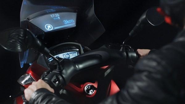 samsung smart windshield, pare-brise connecté pour moto deux-roues