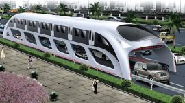 Bus du futur en Chine