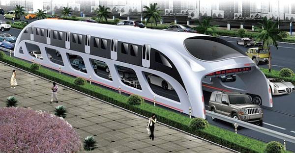 Bus de l'avenir, futur projet en Chine
