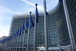 Le Berlaymont, le bâtiment abritant les services de la Commission européenne