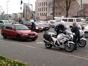Automobiliste arrêté par la police à cause de l'état de sa voiture