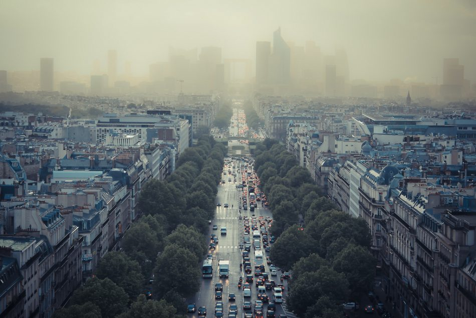 Pic de pollution à Paris