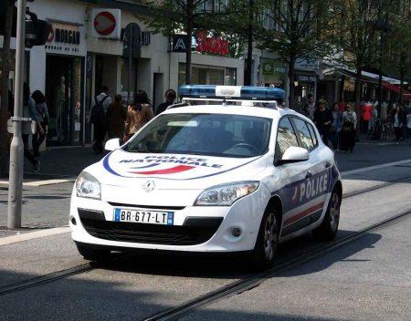 Voiture de police Francaise