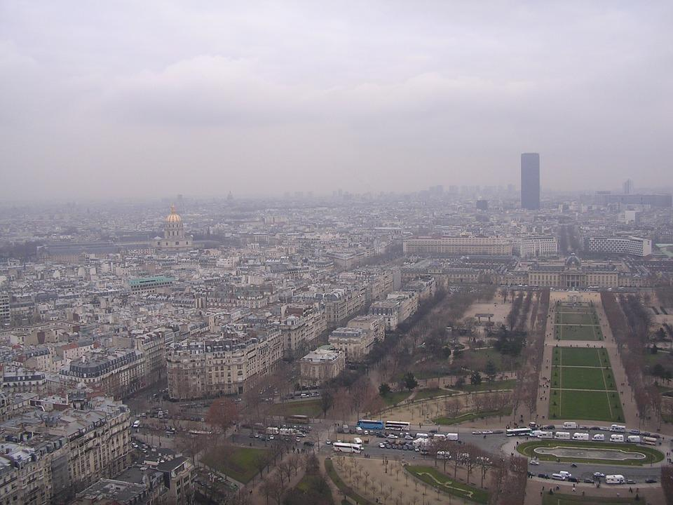 Paris pic de pollution